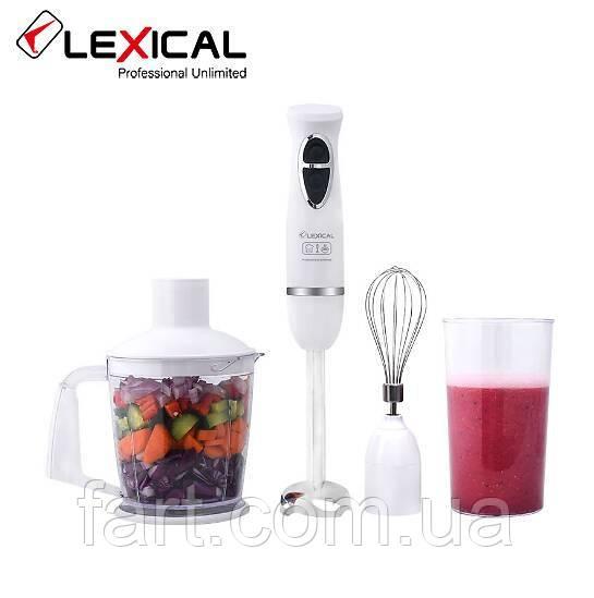 Многофункциональный погружной блендер 4в1 LEXICAL LHB-1604, 500Вт