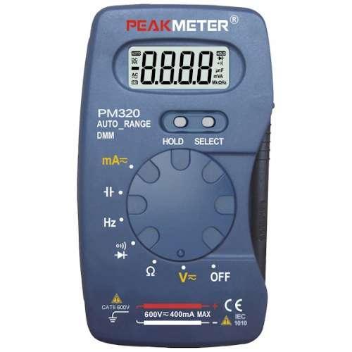 Купить Мультиметры, Мультиметр портативный с функцией измерения ёмкости и частоты PROTESTER PM320