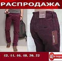 Мужские классические джинсы вельвет. Стильные классические брючные джинсы стретчевые.