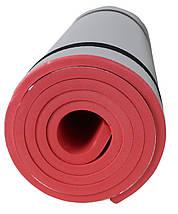 Коврик туристичний (каремат) SportVida Alu EVA 1 см SV-EZ0004 Red, фото 2
