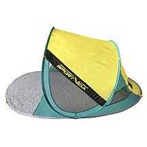 Пляжний тент SportVida 190 x 120 см SV-WS0007 Yellow/Green, фото 3