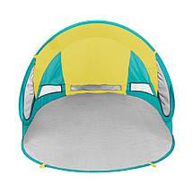 Пляжний тент SportVida 190 x 120 см SV-WS0007 Yellow/Green, фото 2
