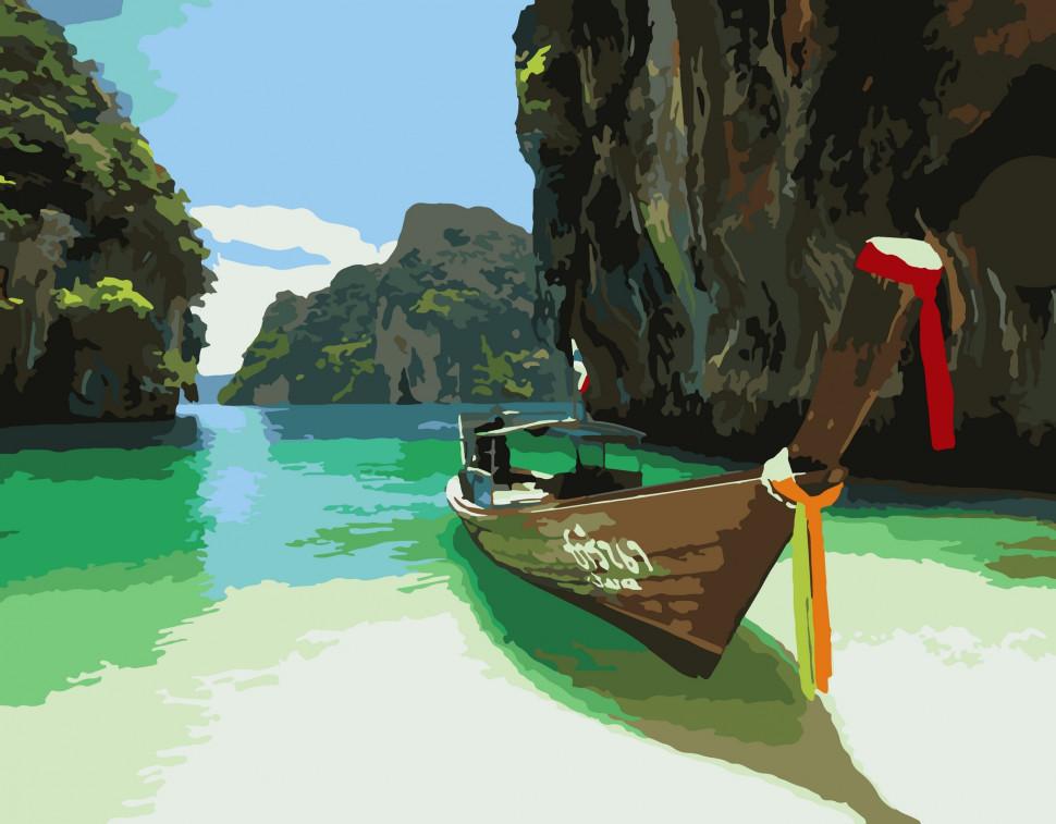 "Картина по номерам. Art Craft ""Пхукет. Таиланд"" 40*50 см 10526-AC"