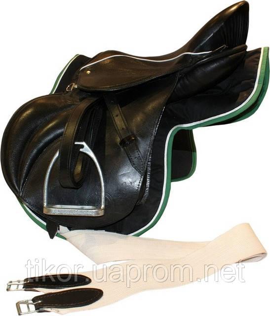 Седло для лошади Конкурное (комплект)