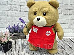 """Ведмедик Тед з фільму """" Третій зайвий плюш 45 см Purple Purple"""