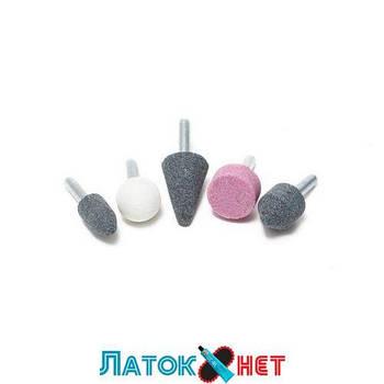 Набор камней абразивных 5 предметов хвостовик 6 мм в блистере RF-SK-108 Rock Force