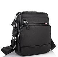 Компактная мужская кожаная сумка через плечо Tiding Bag NA50-8113A, фото 1