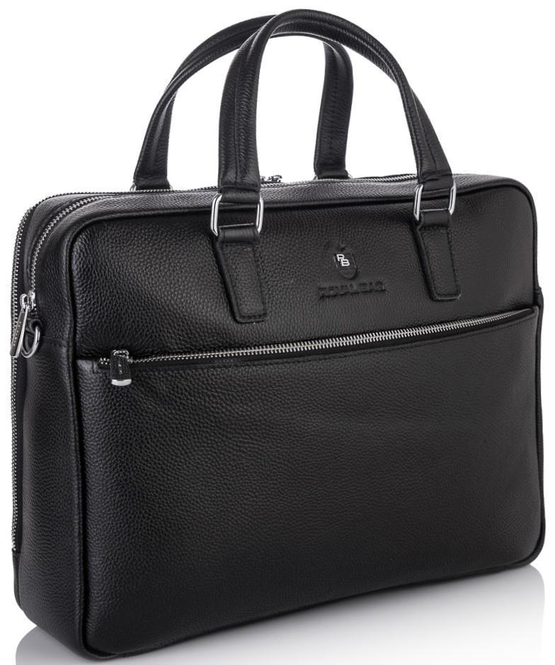 Деловая кожаная сумка-портфель для документов Royal Bag RB50061