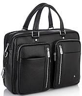 Вместительная функциональная мужская кожаная сумка Royal Bag RB50021, фото 1
