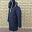 Мужской пуховик на зиму тёплый с мехом, фото 7