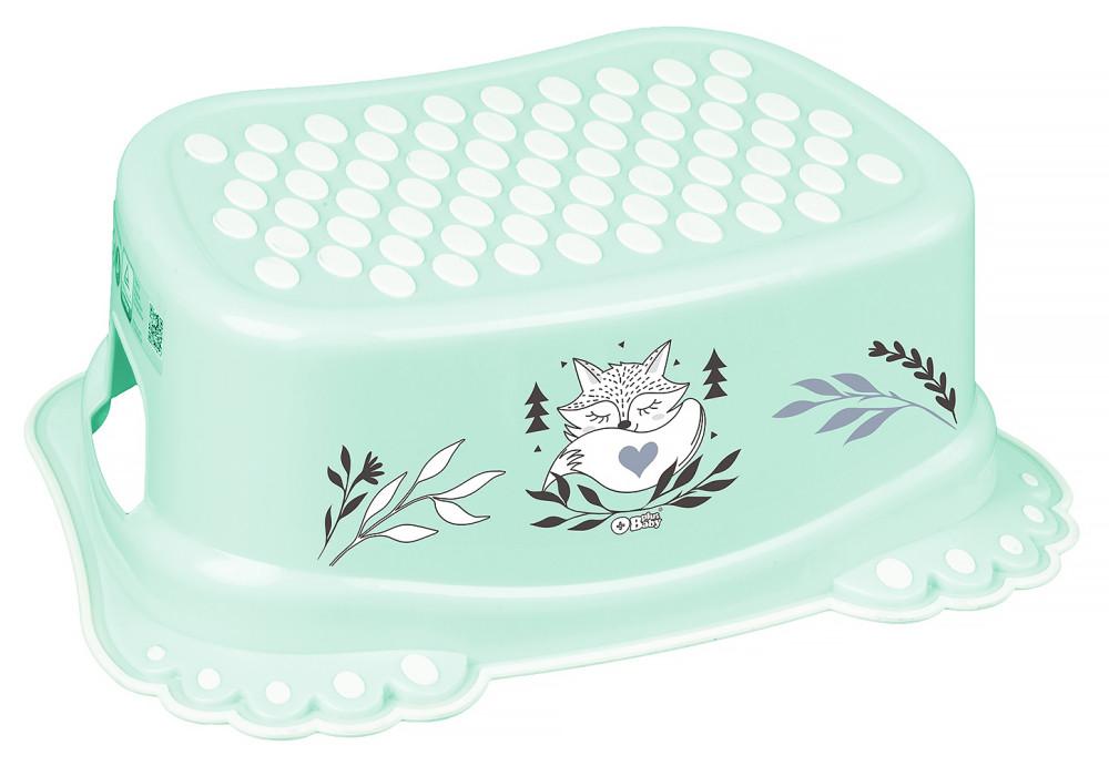 Подставка Tega Little Fox (plus baby) PB-LIS-006 нескользящая 105 light green