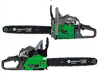Craft-tec Бензопила Craft-tec CT-5600 (2 шины+2 цепи)