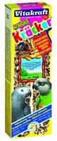 Крекер для африканских попугаев Vitakraft, орехи и фрукты, 2 шт