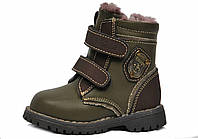 Ботинки для мальчиков зима Blooms kids р.20-25