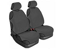 Накидки на сиденья автомобиля универсальные Beltex Cotton 1+1 графит без подголовников