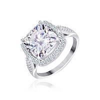 Серебрянное кольцо родированное - КК2Ф/400-17