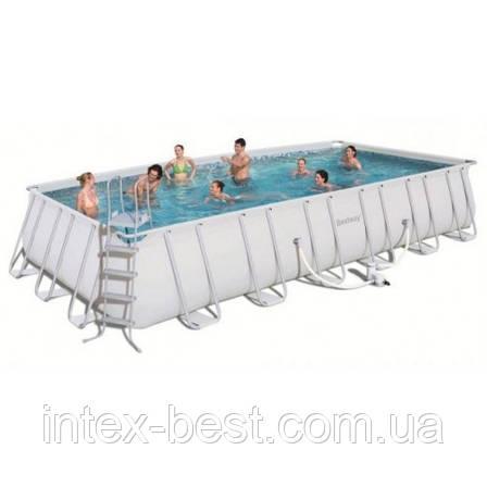 Каркасный бассейн BestWay 56229 (732х366х132см.), фото 2