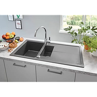 Прямоугольная кухонная мойка гранитная Grohe EX Sink K400 31642AT0