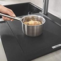 Прямоугольная кухонная мойка гранитная Grohe EX Sink K500 31644AP0