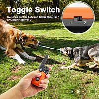 Ошейник для тренеровки собаки IPETS 619S-1 100% водонепроницаемый перезаряжаемый