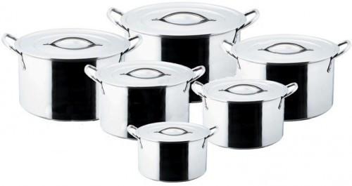 Набор посуды из нержавеющей стали Empire Селло 6 предметов