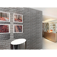 Самоклеящиеся 3d панели обои для стен Sticker Wall Original 700x770x7мм. Шумоизоляционные Гипоалергенные