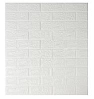 Самоклеящиеся 3d панели обои для стен Комплект 1 шт. Sticker Wall Original 700x770x5мм. Шумоизоляционные
