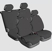 Накидки на сиденья автомобиля универсальные Beltex Cotton 2+2 графит без подголовников