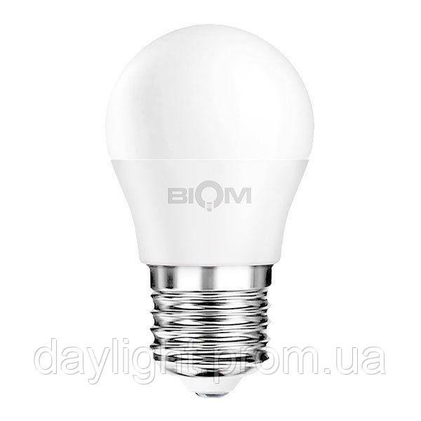 Лампа светодиодная мини шар 9W 4500k E27 Biom