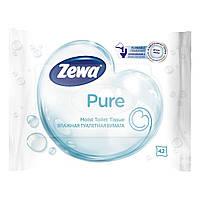Влажная туалетная бумага Zewa Pure 42 шт 13580/6788 ТМ: Zewa