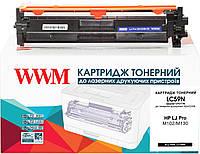 Картридж WWM аналог HP 17A CF217A Black (LC59N)
