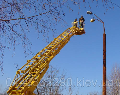 Автовишка Телескопічна Ціна Київ