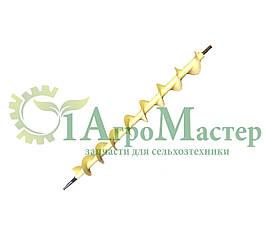 Шнек колосовой РСМ-10Б.01.05.100 в сборе со звездочкой РСМ-10.01.05.201 (z=7, t=38, d=35)