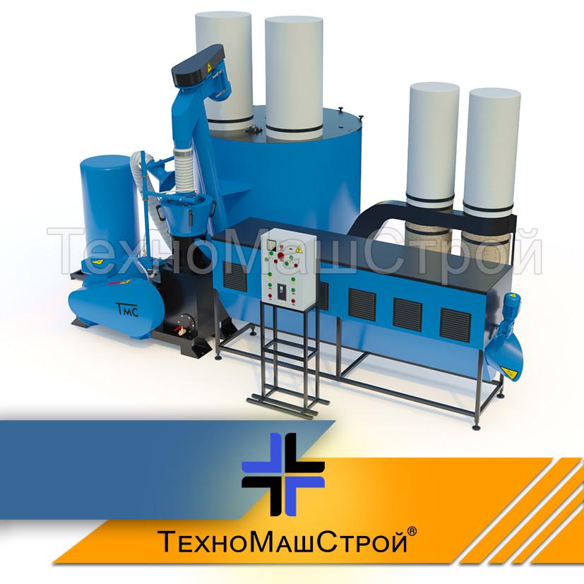 Оборудование для производства пеллет МЛГ-1500 MAX+ (производительность на пеллете до 500 кг/час)