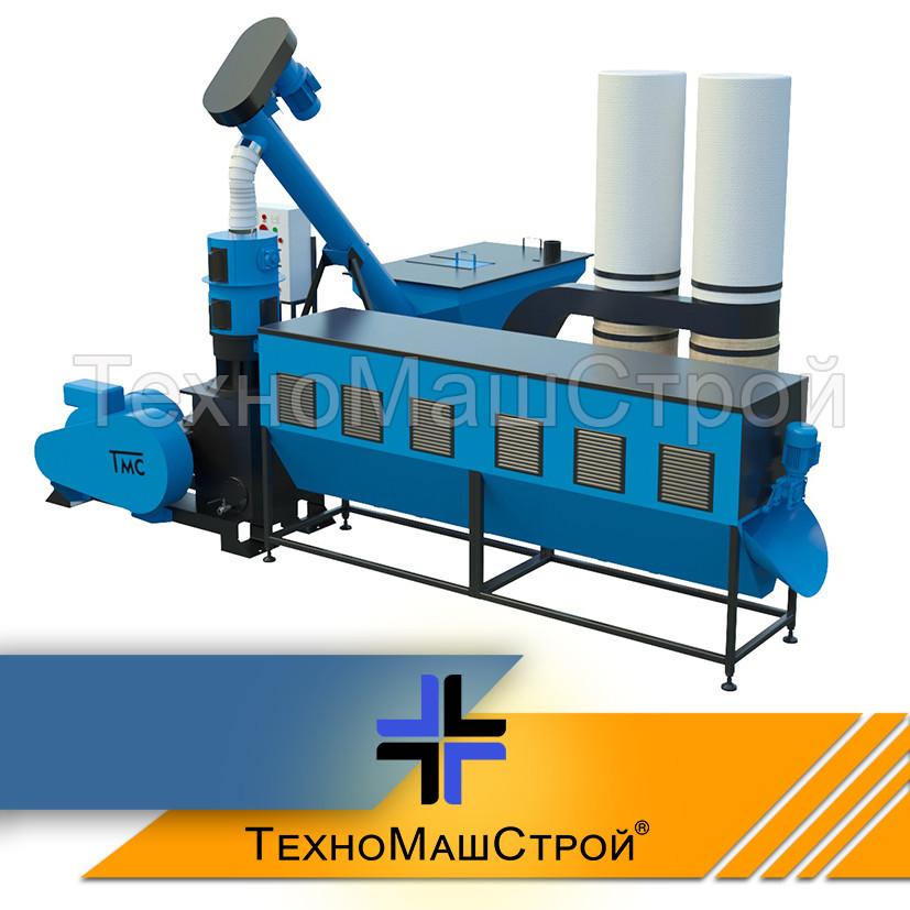 Оборудование для производства пеллет и комбикорма МЛГ-1500 COMBI (производительность до 500 кг\час)