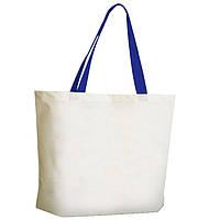 Эко сумка с ручками из ленты, двунитка, 38х42 см