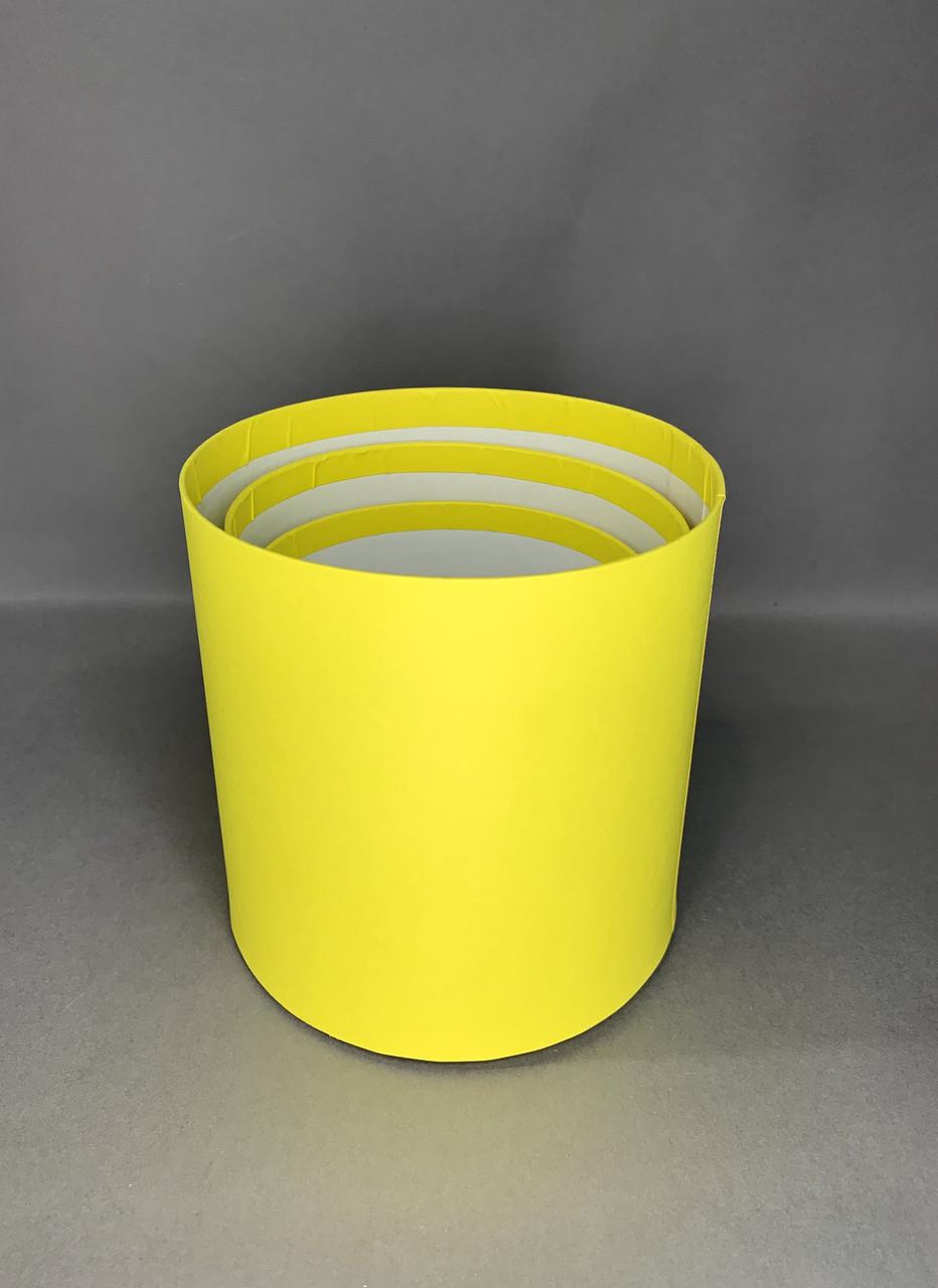Мини матрёшка ( жёлтая матовая)