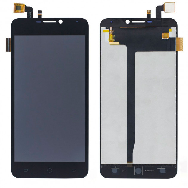 Дисплей для Blackview BV2000S, ASSISTANT AS-5431 PRIMA модуль в сборе с тачскрином, черный