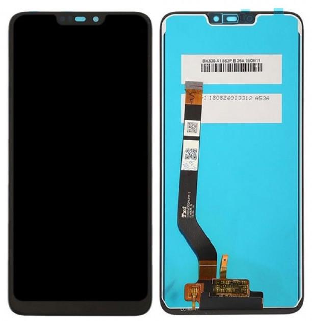 Дисплей для Huawei Honor 8C модуль в сборе с тачскрином, черный