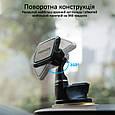 Магнитный автодержатель для телефона Promate MagMount-5 Blue, фото 4