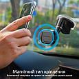 Магнитный автодержатель для телефона Promate MagMount-5 Blue, фото 2