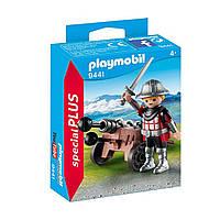 """Игровой набор """"Рыцарь с пушкой"""" Playmobil (4008789094414)"""