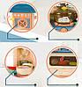 Детская интерактивная кухня Bozhi Toys Fun Cooking с водой и холодным паром зеленая, фото 4