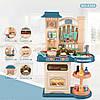 Детская интерактивная кухня Bozhi Toys Fun Cooking с водой и холодным паром зеленая, фото 3