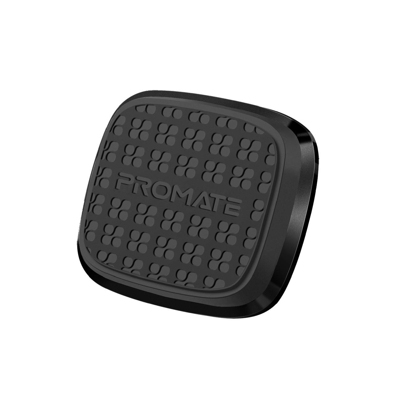 Магнитный автодержатель для телефона Promate Magnetto Black