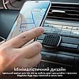 Магнитный автодержатель для телефона Promate Magnetto Black, фото 4