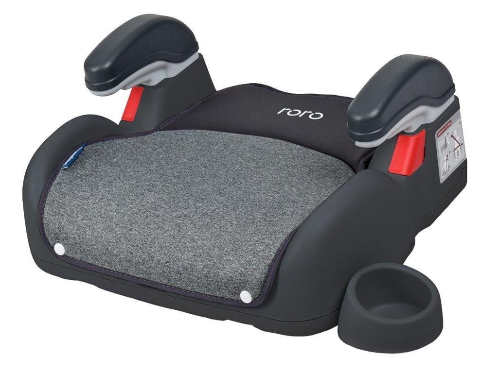 Детское автокресло бустер для перевозки детей в машине El Camino ME 1144 RORO Isofix Dark Gray (22-36 кг)