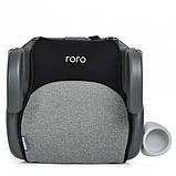 Детское автокресло бустер для перевозки детей в машине El Camino ME 1144 RORO Isofix Dark Gray (22-36 кг), фото 2