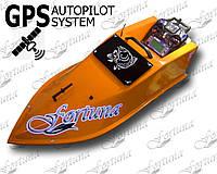 Кораблик для прикормки Фортуна (15000 mAh) с GPS автопилотом (8+1)