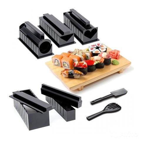 Набор форм для приготовления суши и роллов Мидори 5 в 1